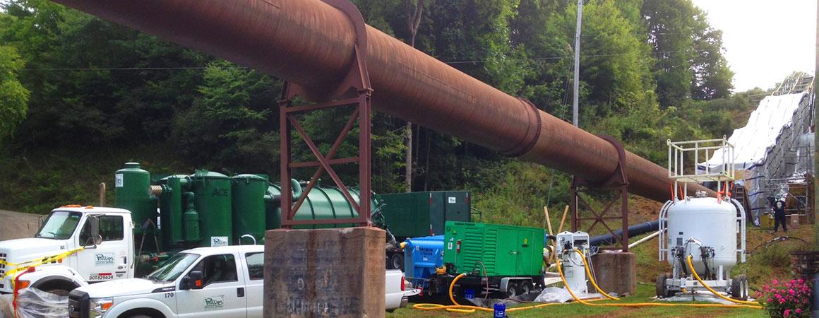 Hydroblasting Pipelines