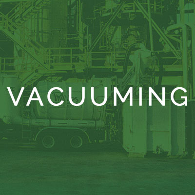 Phillips Industrial Services Vacuuming
