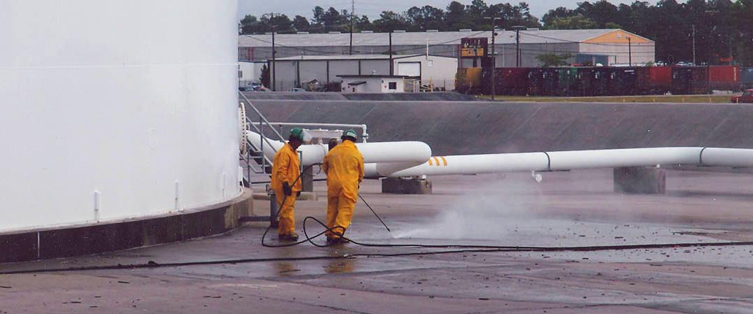 Industrial Waterblasting