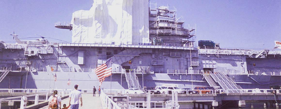 Lead Paint Abatement USS Yorktown